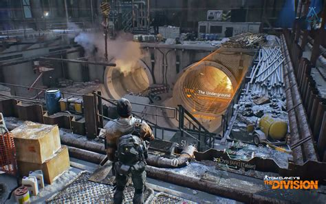 bureau gaming tom clancy 39 s the division 11 hd wallpaper