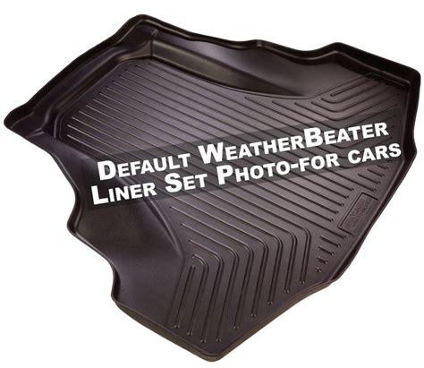 Husky Liners 98581 Weatherbeater Floor Liner by Husky Liners 42021 Weatherbeater Floor Mats 11 13