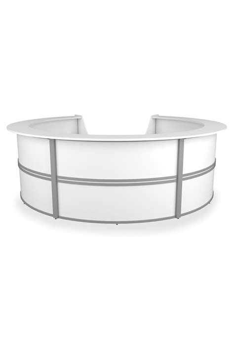 Curved Reception Desk  Round Reception Desk  Circular. Small Folding Camping Table. Farmhouse Style Table. Modern Entry Table. Used Height Adjustable Desk. Phone Table With Drawer. Paris Las Vegas Front Desk. Truck Tool Drawer Boxes. Centerpieces For Living Room Table