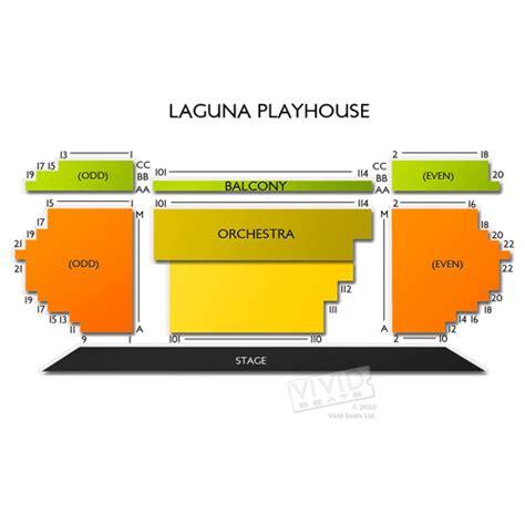 Laguna Playhouse Seating Chart  Vivid Seats