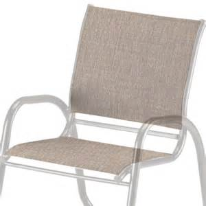 telescope casual cafe chair replacement sling 7110