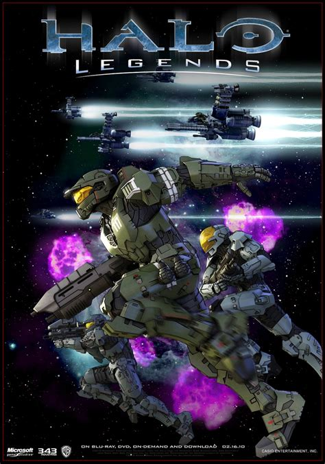 Halo Legends The Package Halo Pinterest