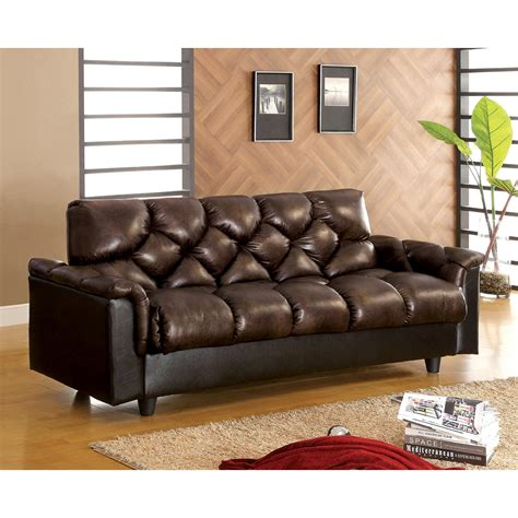 Venetian Worldwide Bowie Futon Sofa W Under Seat Storage