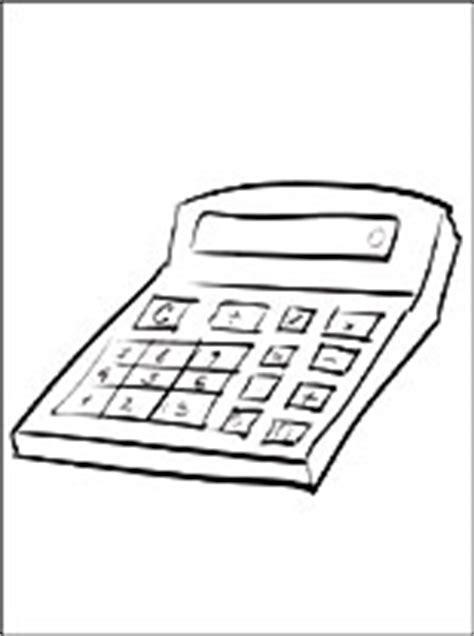 disegno  calcolatrice da stampare disegni da colorare