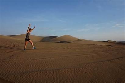 Sand Dunes Dune Buggy Couple Selfies Vesper