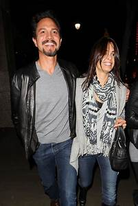 Benjamin Bratt amd Talisa Soto at The Montalban Theater ...