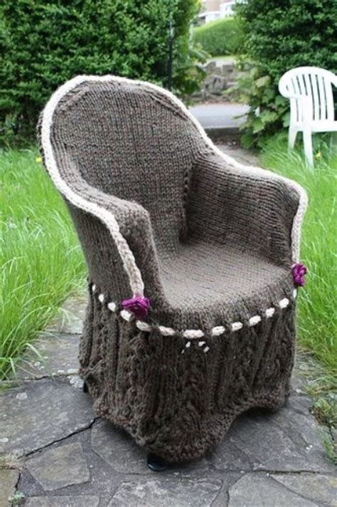 soft  cozy knitted furniture pieces  fall