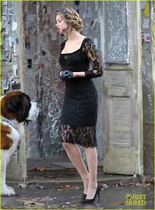 Amber Heard Little Black Dress For 39London Fields