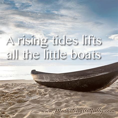 A Rising Tide Lifts All Boats by 100 Awesome Sayings To Use For Social Media Or Artwork