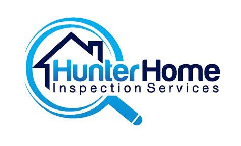 home inspection logo design hunter home inspection logo logo design contest