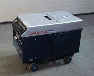 5 5 Kva Honda Generator Set Ex 5500 Super Silent