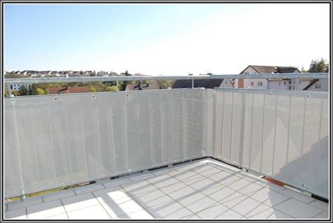 sichtschutz balkon grau balkon sichtschutz grau 90 balkon house und dekor