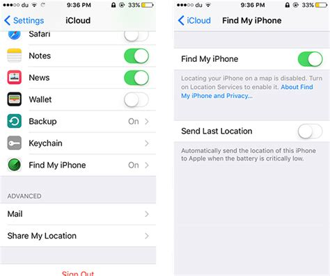 find my iphone in settings how to downgrade ios 10 beta to ios 9 3 2 iblogapple