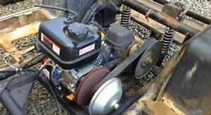 These Guys Replaced Their Blown Golf Cart Motor With A Cheap Harbor Freight 6 5hp And It Works