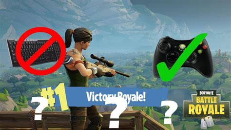 playing fortnite pc   xbox  controller fortnite