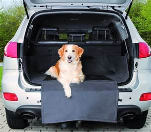 Protection Chien Voiture : couverture de coffre pour chien protection 164 125cm noir ~ Dallasstarsshop.com Idées de Décoration