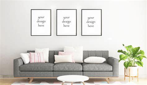 Poster study room psd mockup. Frame Mockup, Frame Mock-Up, Simple Mockup, living room mockup Frame, Poster mockup, Wall Art ...