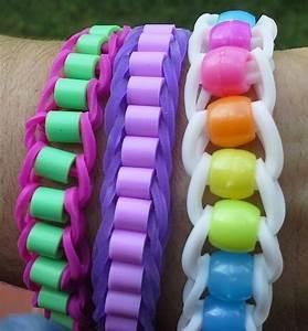 Bracelet Avec Elastique : faire un bracelet en lastique avec des perles rainbowloom braceletloom kreatif banget ~ Melissatoandfro.com Idées de Décoration