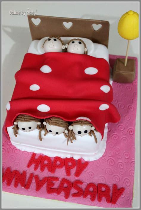 anniversary cakes ideas images  pinterest