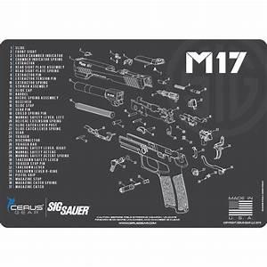 Sig Sauer U00ae M17 Schematic Promat  Licensed  U0026 Endorsed By