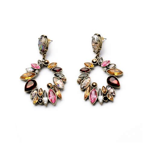 costume jewelry new statement chandelier earrings bridal