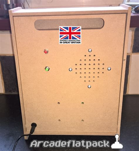arcade mini bartop flat pack cabinet kit mame raspberry