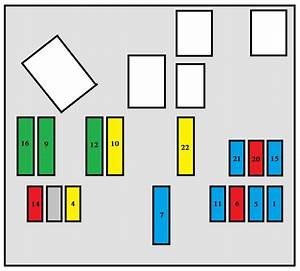 Peugeot 407  2006  - Fuse Box Diagram