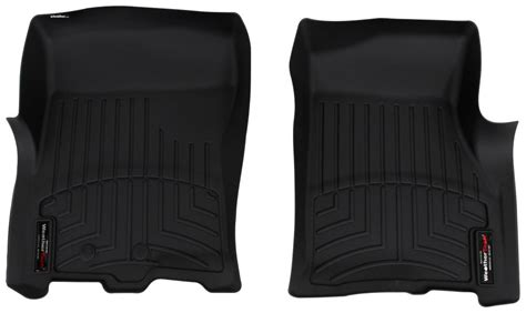 weathertech floor mats expedition 2014 ford expedition weathertech front auto floor mats black