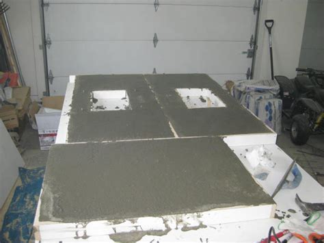 Pour Your Own Concrete Countertops by Mix Concrete Countertops