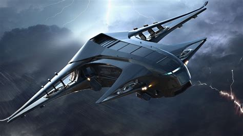 space sky airplane aircraft science fiction Star Citizen ...