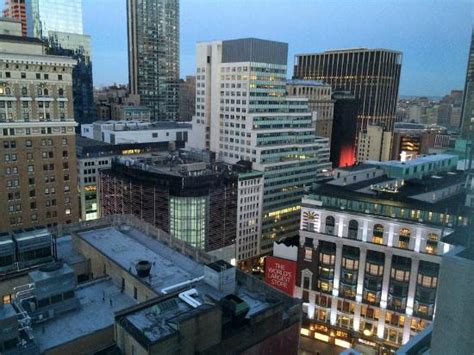 hton inn garden city ny a room with a city view 19th floor here picture of