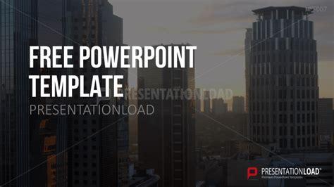 presentationload kostenlose powerpoint vorlage skyline