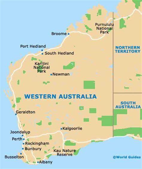 perth maps  orientation perth western australia wa