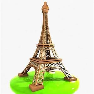 Cartoon Eiffel Tower Clipart (95+)