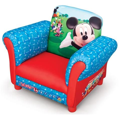 canape mickey mickey fauteuil enfant chesterfield achat vente