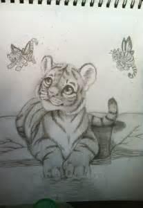 Cute Tiger Drawings