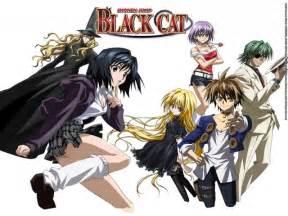 black cat anime top wallpapers black cat anime