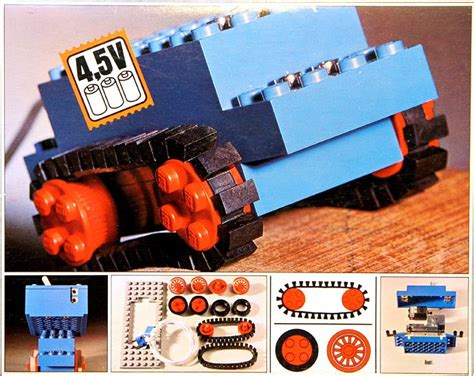 motor set  rubber tracks brickset lego set guide