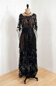 Evening Gown around 1910 | Fashions of the Past | Pinterest