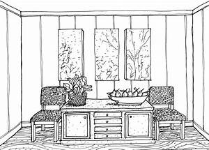 Interior Design Drawings Perspective Inspiration ...