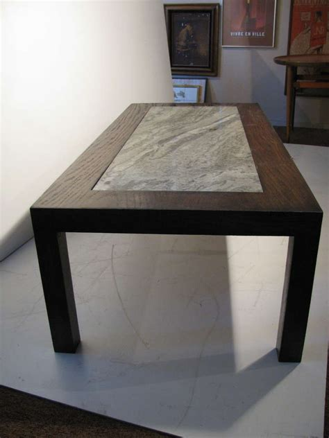 granite top tables for sale modernist granite top cocktail table in the style of tommy