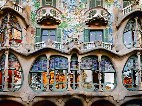 All Roads Lead To Gaudi Surreal For Breakfast, Lunch And