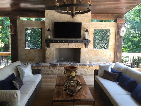 Atlanta Outdoor Fireplaces Outdoor Kitchens Old Hat