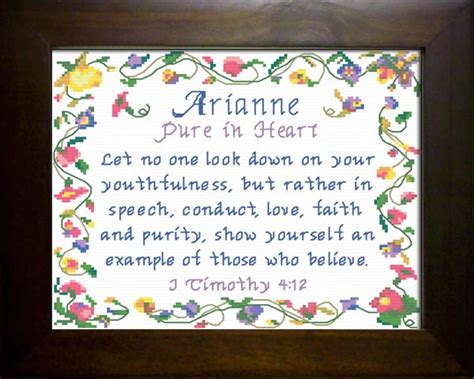 name blessings arianne personalized names with