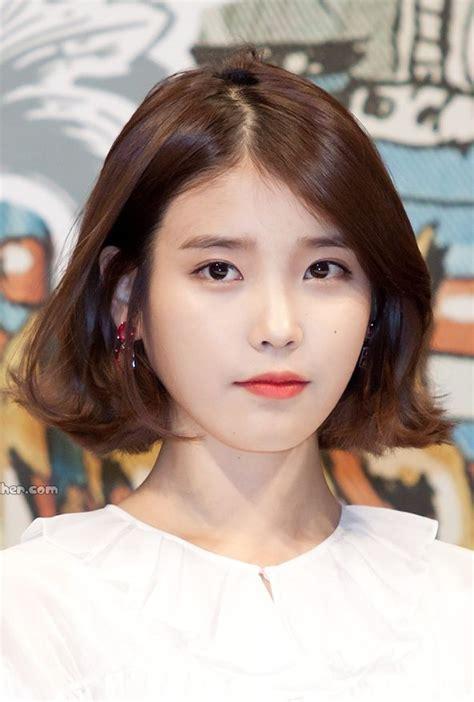 korean short lob bob           pinterest