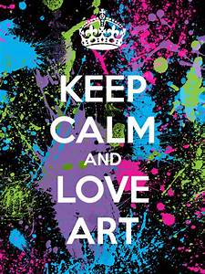 KEEP CALM AND LOVE ART Poster | Beth | Keep Calm-o-Matic