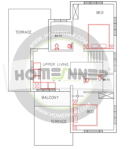 free indian house plan 1500 sq ft 3 bedroom 3 bath