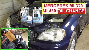 Mercedes W163 Oil Change Ml320 Ml430 How To Change Engine