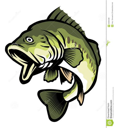 Bass Clipart Bass Fisherman Clipart