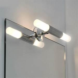 Spiegelleuchte Bad Led : spiegelleuchte design badleuchte 25 5cm spiegel wandleuchte bad led geeign neu ebay ~ Buech-reservation.com Haus und Dekorationen
